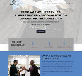 Business Coaching Website from OneCom Media & Marketing