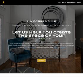 Interior Decorator Website from OneCom Media & Marketing