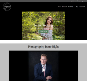 Photography Website from OneCom Media & Marketing