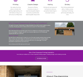 Printing Company Website from OneCom Media & Marketing
