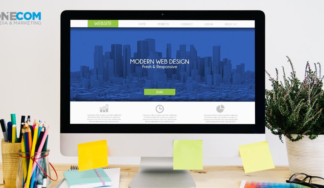 Building a Great Website Design OneCom Media & Marketing